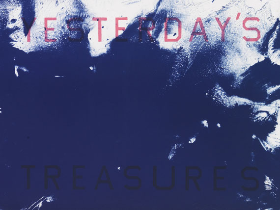Edward Ruscha - Lithograph in colors
