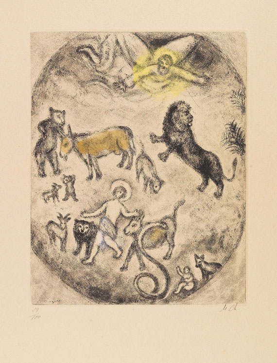 Marc Chagall - Etching