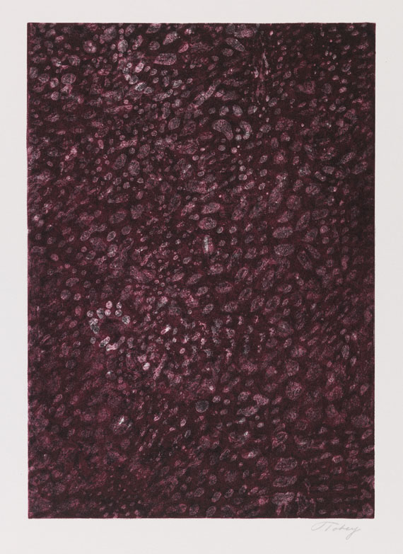 Mark Tobey - Lithograph in colors