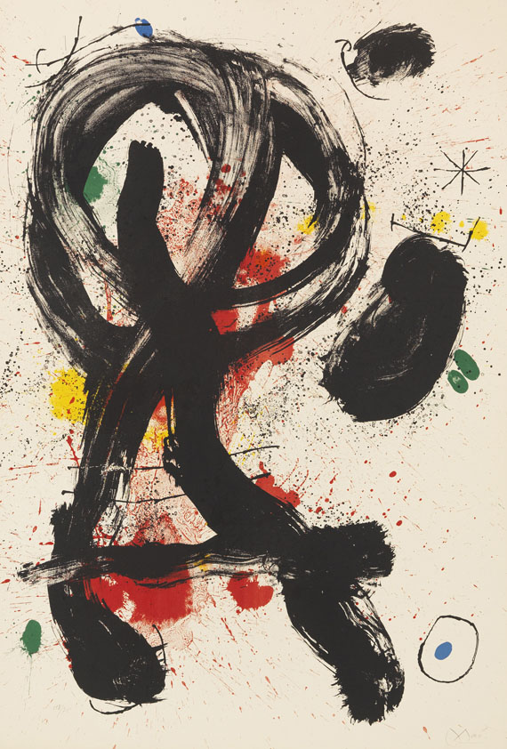 Joan Miró - Lithograph in colors