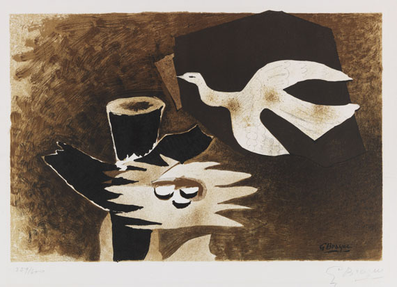 Georges Braque - Lithograph in colors