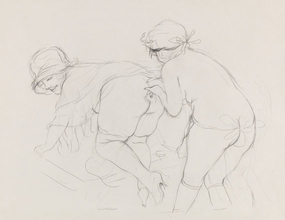 George Grosz - Pencil drawing